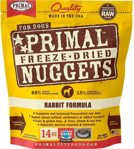 Primal Pet Foods Freeze-Dried Nuggets | Low Carb Dog Food