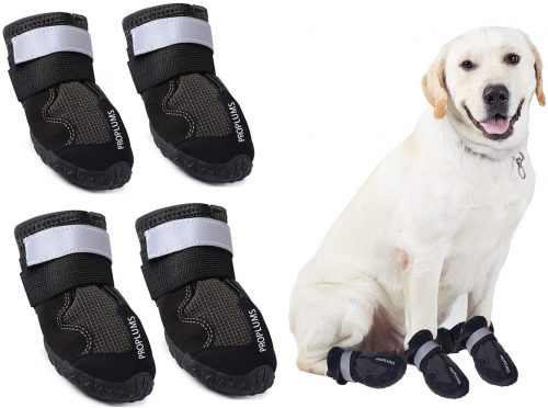 PROPLUMS Waterproof Dog Boots | Dog Shoes for Hiking