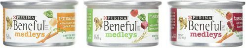 PURINA BENEFUL Medleys Variety Wet Dog Food  | Low-Fat Dog Foods