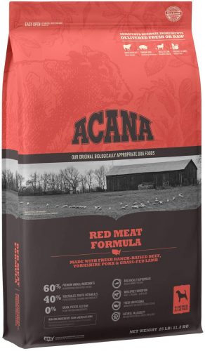 ACANA Red Meat Dog Food | Low Carb Dog Food