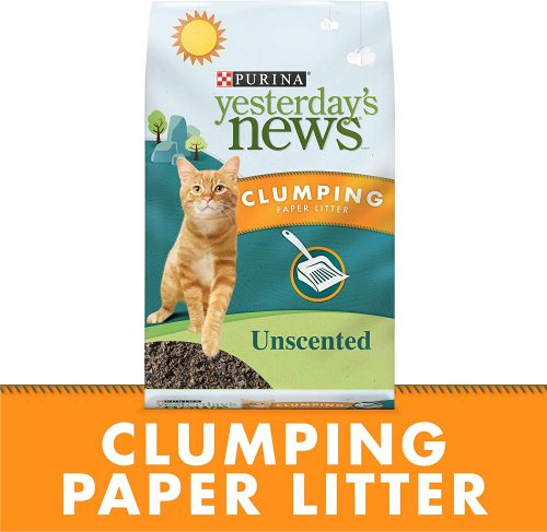 Purina Yesterday's News Unscented Paper Cat Litter  | Paper Cat Litter