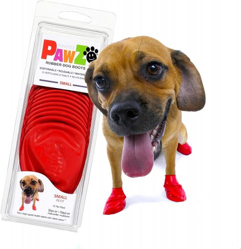 Pawz Dog Boots S | Dog Paw Protection with Dog Rubber Booties| Dog Winter Boots