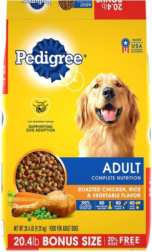 PEDIGREE Adult Dry Dog Food  | Low-Fat Dog Foods