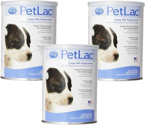 PetLac Milk Powder for Puppies, 10.5-Ounce Each (3 Pack)| Goats Milk for Puppies