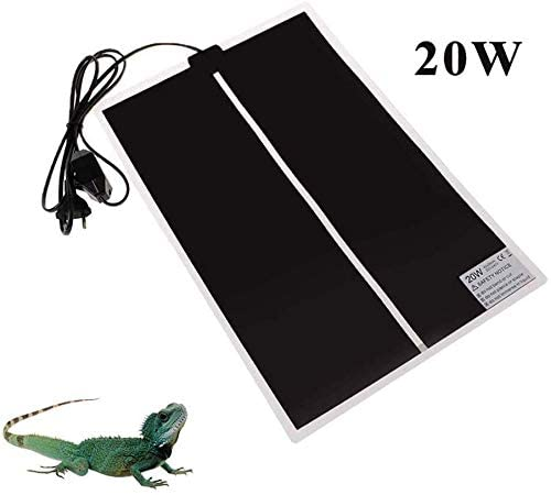 AUOKER Reptile Heating Pad with Temperature Control | reptile heating pads