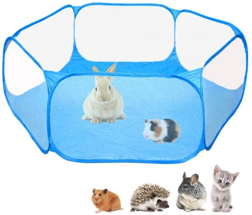Amakunft Small Animals C&C Cage Tent | bunny supplies