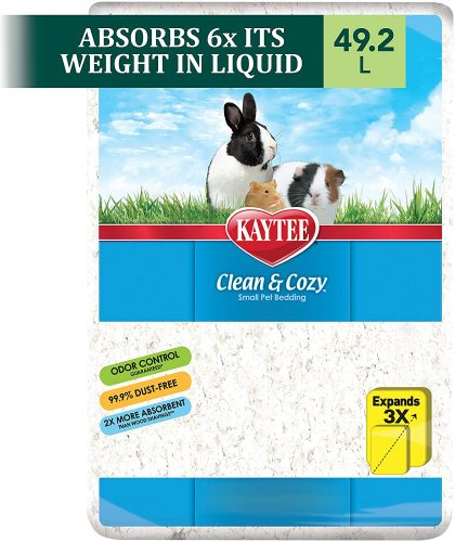 Kaytee Clean & Cozy White Small Animal Bedding | bunny supplies