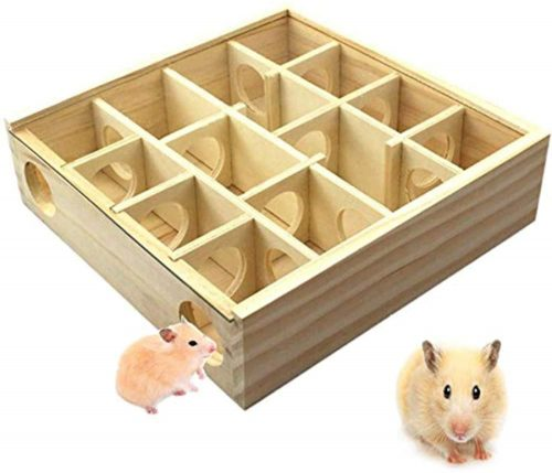 LXB Hamster Maze, Hamster Wooden Maze Tunnel | gerbil toys