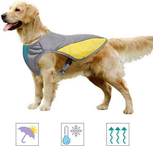 MIGOHI Dog Cooling Vest, Cooling Coat for Dogs | Cool Coats for Dogs