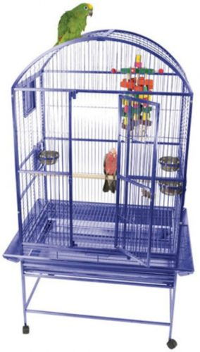 Medium Dome Top Bird Cage | Parakeet cages