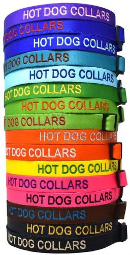 Personalized Embroidered Dog Collar | Embroidered Dog Collar