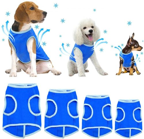 SELMAI Dog Swamp Cooler Vest Harness | Cool Coats for Dogs
