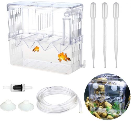 Senzeal X-Large Aquarium Breeder Box Fish | breeding boxes