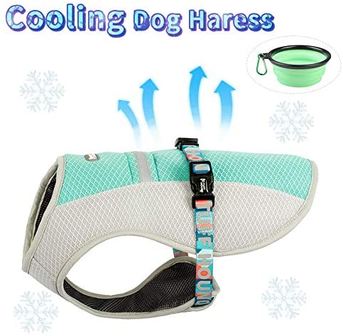 TUFF HOUND Dog Cooling Vest Harness | Cool Coats for Dogs