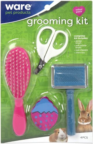 Ware Manufacturing Small Animal Grooming Kit | bunny supplies
