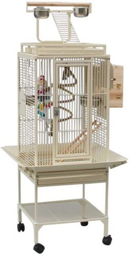 Xiaodou Bird cage Large Rolling Metal Bird Cage | Canary Cage