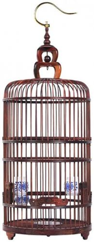 Xiaodou Bird cage Wooden Bird Cage | Canary Cage