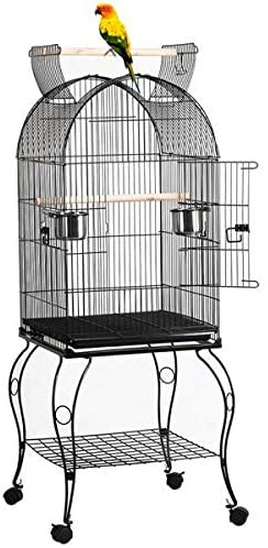 YAHEETECH 59-inch Dome Open Top | Parakeet cages