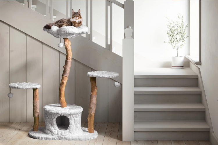 Wooden Cat Trees