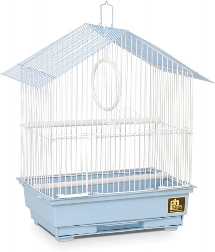 Prevue Pet Products 31996 House Style Economy Bird Cage | Stainless Steel Bird Cage