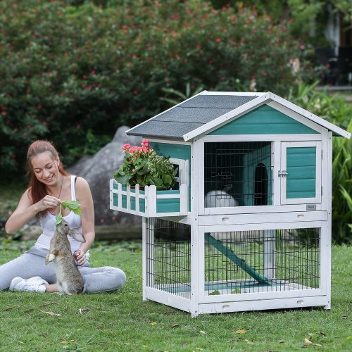 Petsfit Bunny Cage | Large Rabbit Hutches