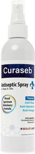 Curaseb Antifungal & Antibacterial Chlorhexidine Spray for Dogs | Animal Shampoo Spray