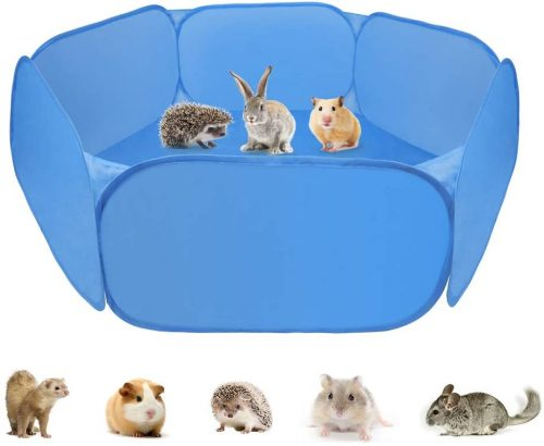 Zacro Small Animals Tent - Small Animal Playpen | Cage Tent For Bunny