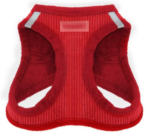 Voyager Step-in Plush Dog Harness| Dog Coat With Harness