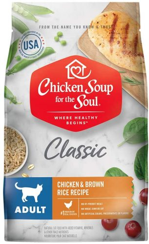 Chicken Soup for the Soul Adult Dry Cat Food  | Hypoallergenic Cat Food