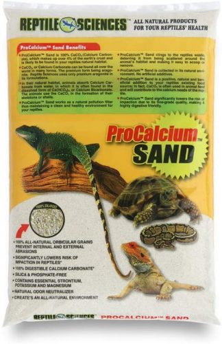 Reptile Sciences Terrarium Sand, 10-Pound | Tortoise Bedding