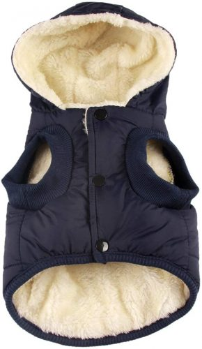 vecomfy Fleece and Cotton Lining Extra Warm Dog| Dog Coat With Harness