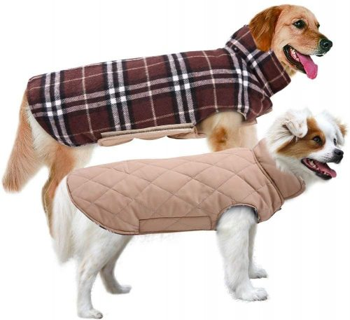 MIGOHI Dog Jackets for Winter Windproof Waterproof| Dog Coat With Harness