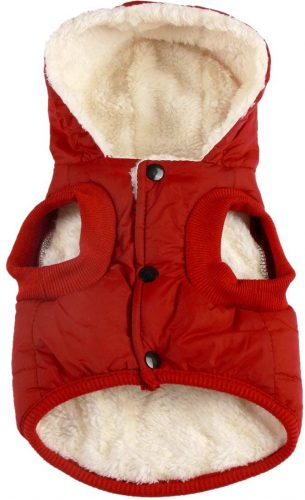 vecomfy Fleece and Cotton Lining Extra Warm Dog| Barbour Dog Coat