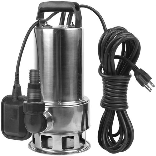 EXTRAUP 1.5HP 4250 GPH Stainless Steel Sump | Pond Water Pump