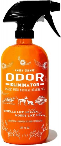 ANGRY ORANGE Ready-to-Use Citrus Pet Odor | Animal Shampoo Spray