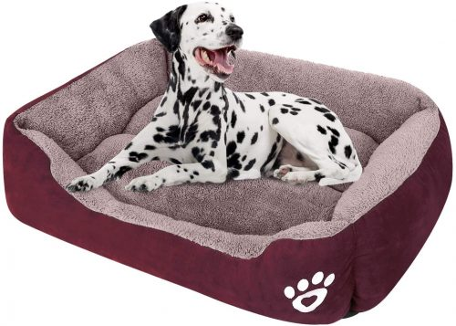 CLOUDZONE Dog Bed Machine Washable Rectangle  | Nest Dog Bed