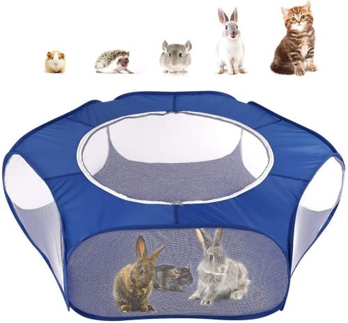 Pawaboo Small Animals Playpen, Waterproof Small Pet Cage | Cage Tent For Bunny