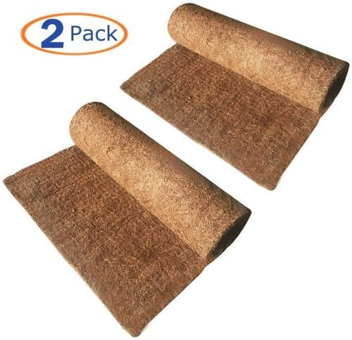Hamiledyi Reptile Carpet Natural Coconut Fiber  | Tortoise Bedding