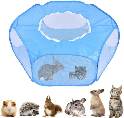 ADOGGYGO Guinea Pig Rabbit Cage Pet Playpen | Cage Tent For Bunny