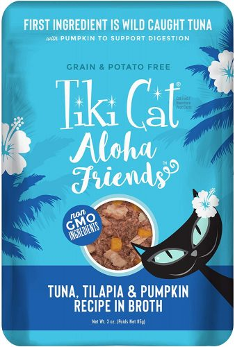 Tiki Cat Aloha Friends Grain Free Wet Cat Food  | Hypoallergenic Cat Food