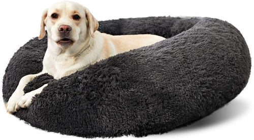 ANWA Washable Dog Round Bed Medium | Nest Dog Bed