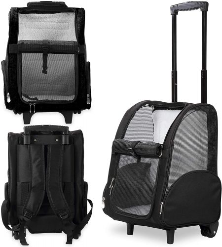 Kundu KDU-013 Deluxe | Backpack Pet Carriers for Dogs