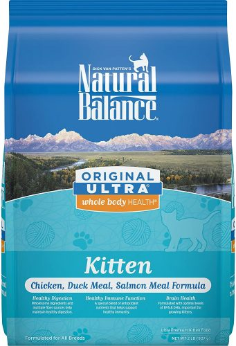 Natural Balance Original Ultra Whole Body Health | Hypoallergenic Cat Food