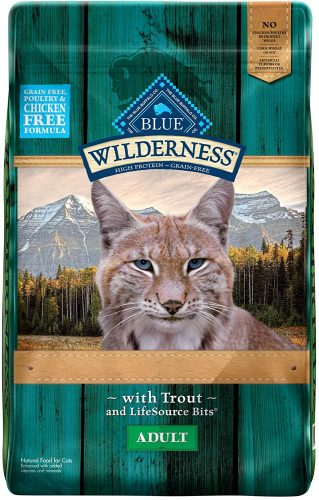Blue Buffalo Wilderness Rocky Mountain Recipe High Protein | Hypoallergenic Cat Food