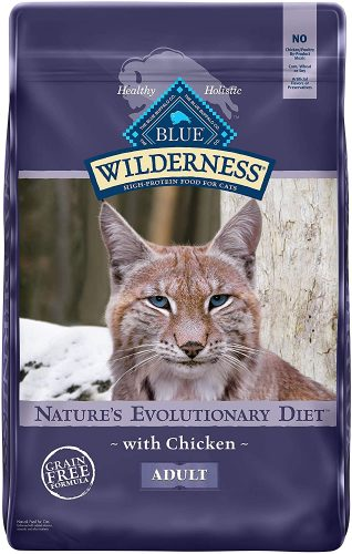 Blue Buffalo Wilderness High Protein, Natural Adult Dry Cat Food | Hypoallergenic Cat Food