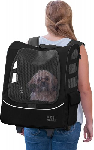 Pet Gear I-GO2 Roller | Backpack Pet Carriers for Dogs