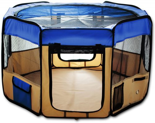 """ESK Collection 48"""" Pet Puppy Dog Playpen 