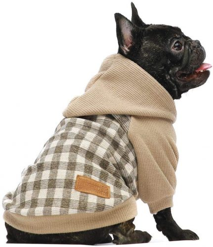 Fitwarm Knitted Pet Clothes Dog | English bulldog clothes