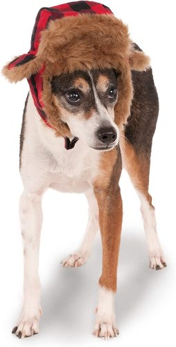 Rubie's Costume Company Trapper Pet Hat | Winter hats for dogs