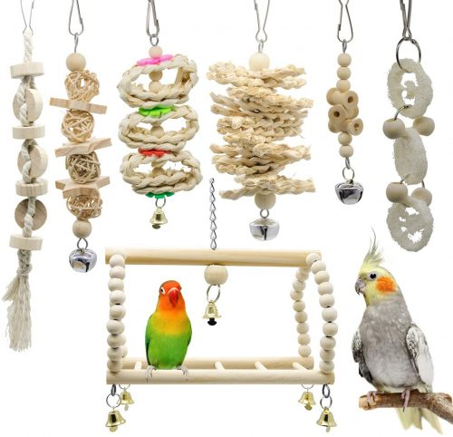 Deloky Parrot Chewing Toys | Parrot Toys
